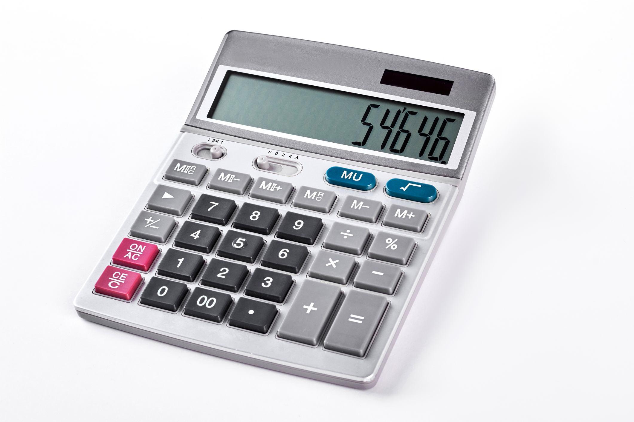 Silver calculator