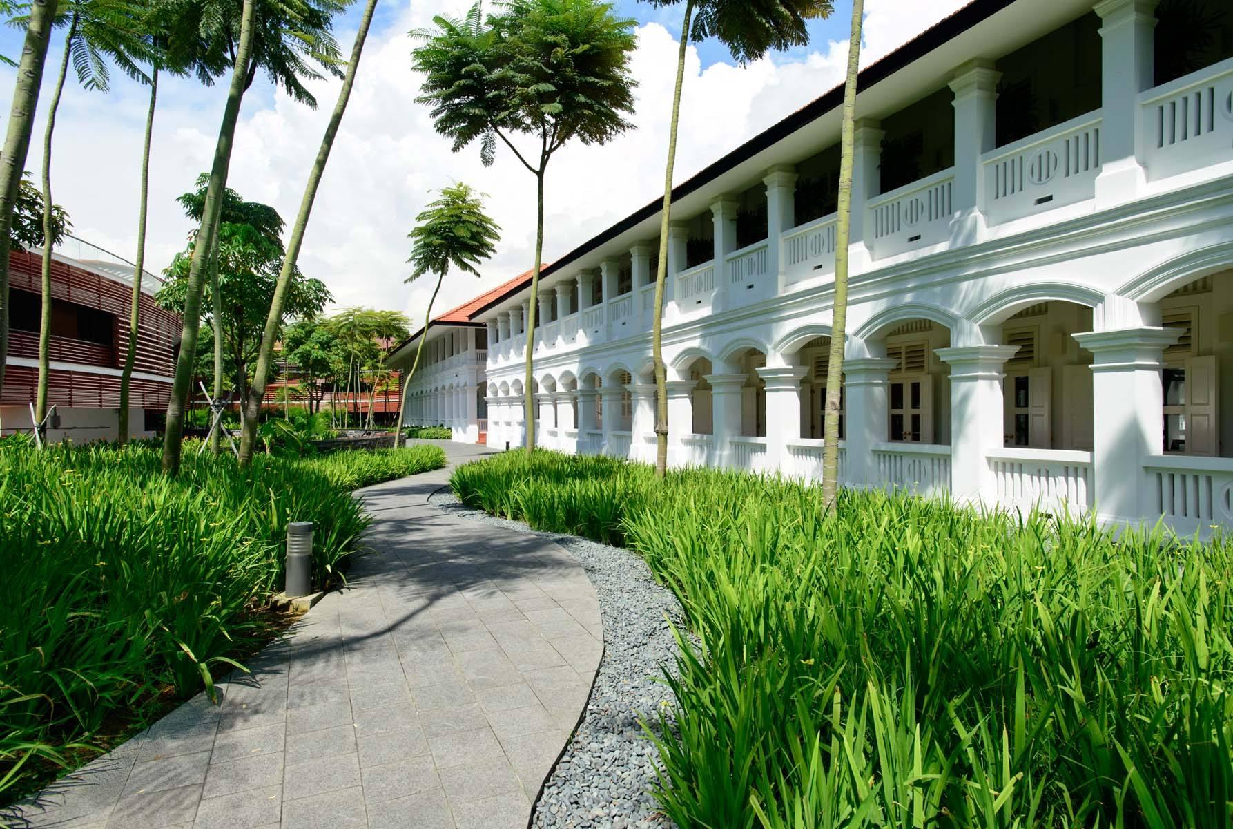 Capella hotel on Sentosa island, Singapore