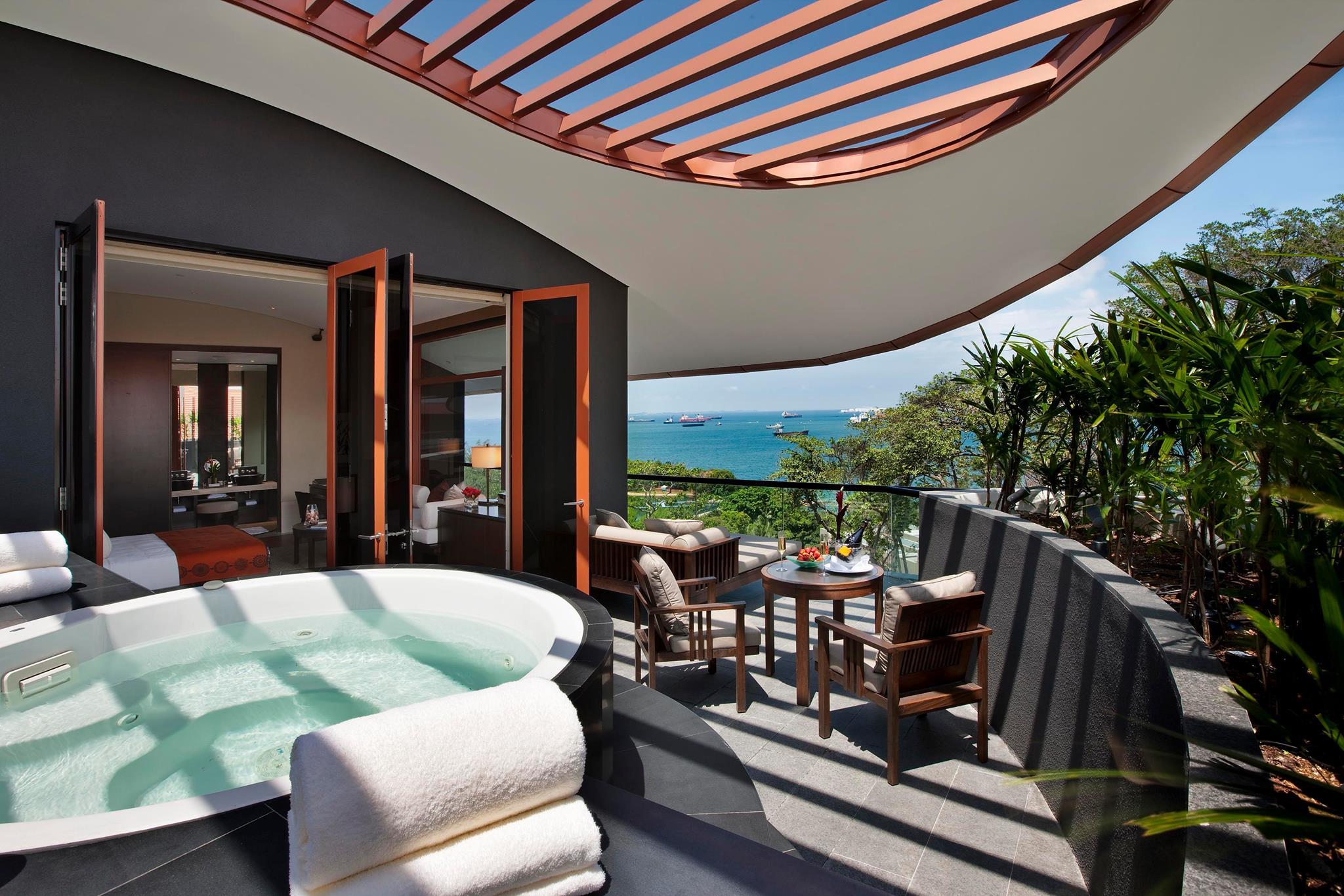 Capella Singapore Sentosa Island room