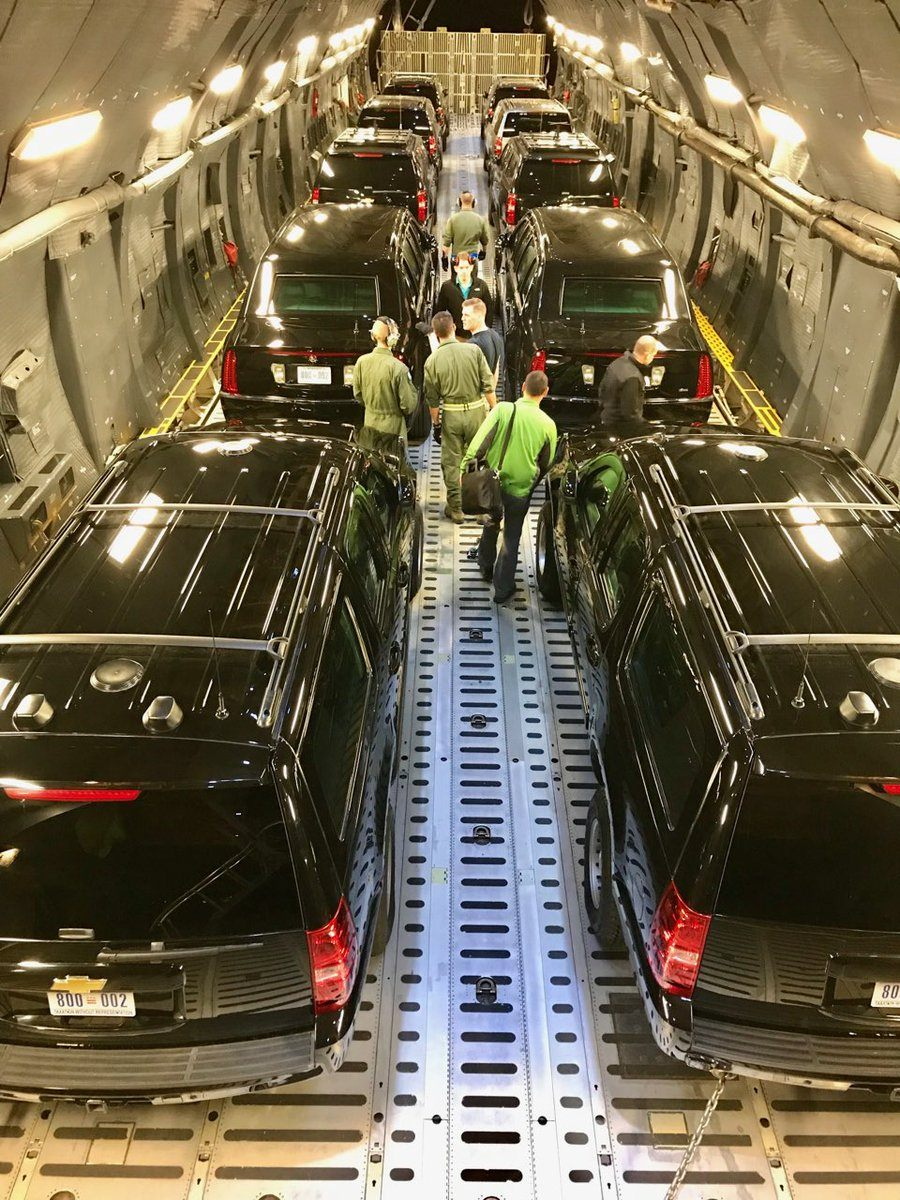Car transport presidential limo