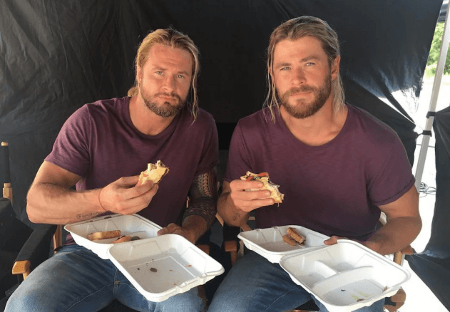 Chris Hemsworth and Bobby Holland Hanton
