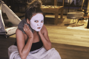 Chrissy Teigen's Vaginal Steaming Photo Just Took Instagram to a Whole New Level of Honesty