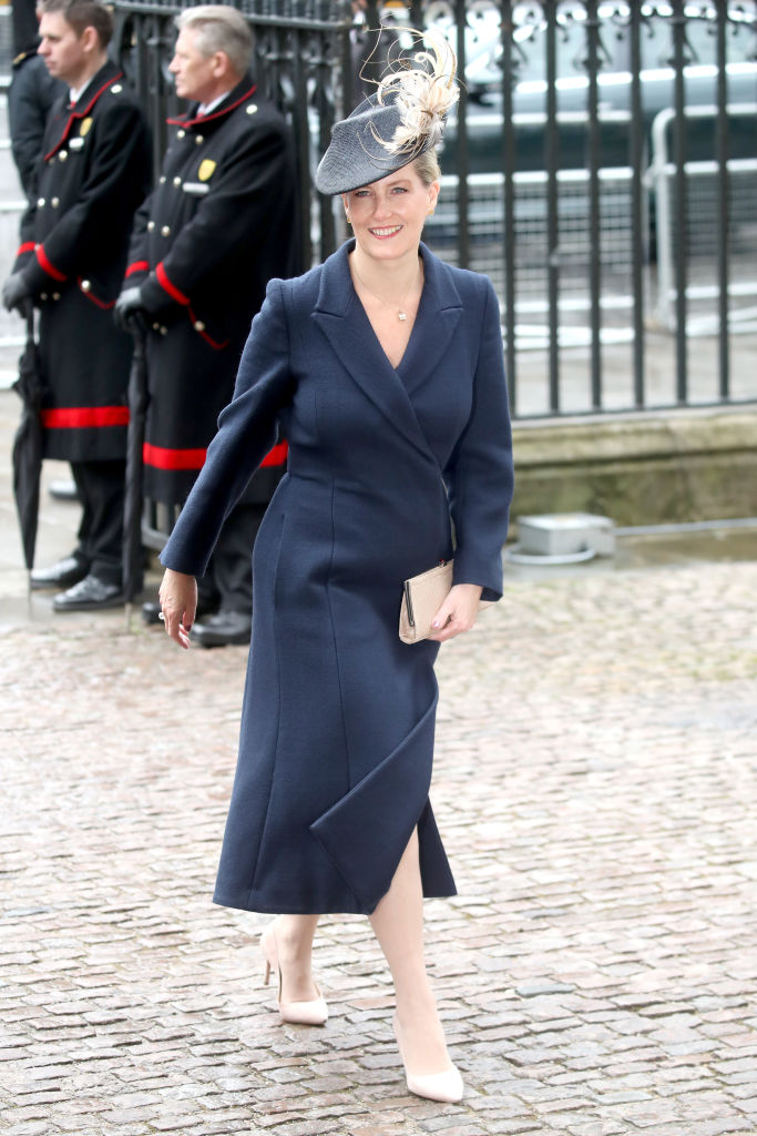Sophie, Countess of Wessex at the Commonwealth Day Service & Reception