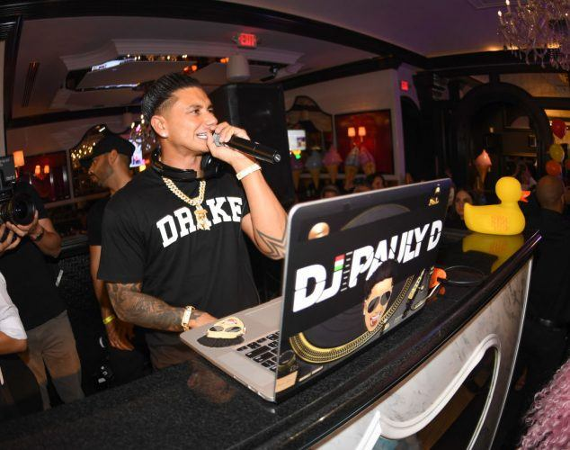 DJ Pauly D Hosts the One Year Anniversary Of Sugar Factory American Brasserie