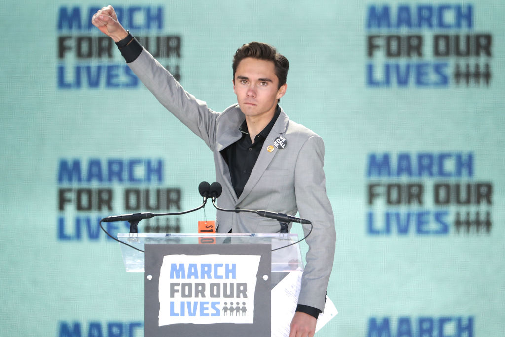 David Hogg at March for Our Lives