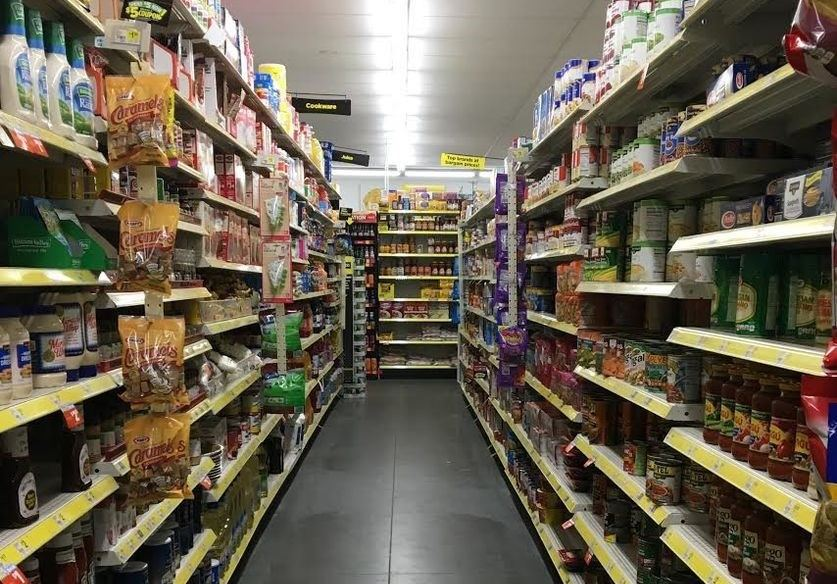 Dollar General aisle