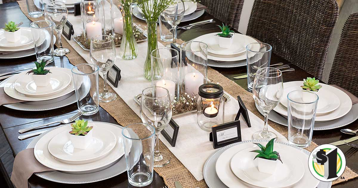 Dollar tree table setting