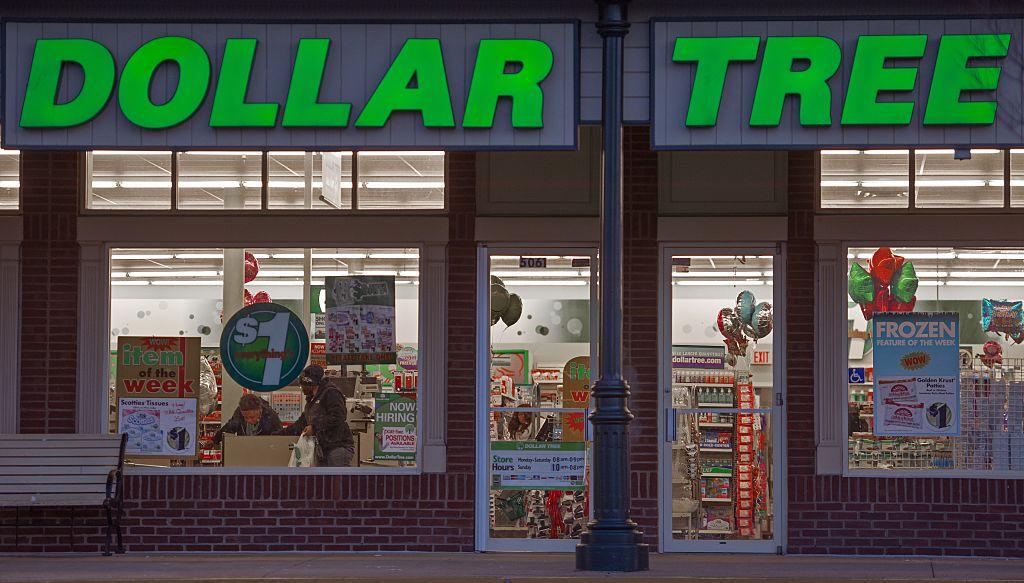 Dollar Tree window