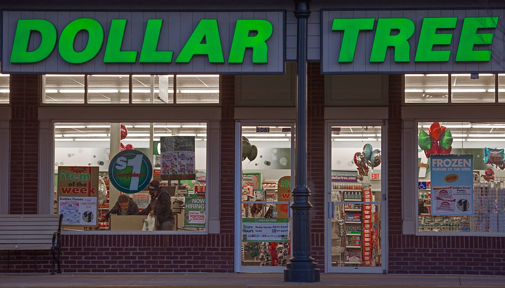 Dollar Tree window