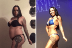 How This Mom of 3 Went From Unhealthily Overweight to Fitness Competitor in a Matter of Weeks