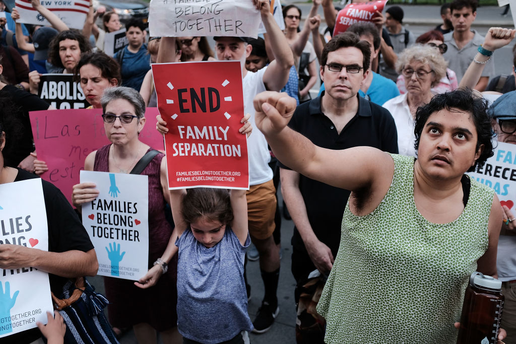 Protestors Across US Rally Against Separation Of Immigrant Children From Fa
