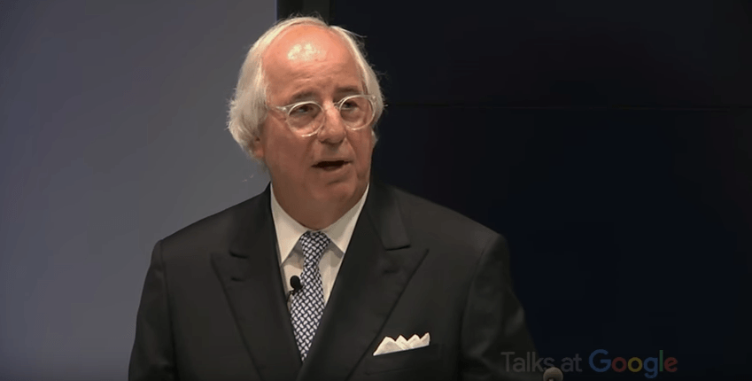 """Frank Abagnale from """"Catch Me If You Can"""" at """"Talks at Google"""""""