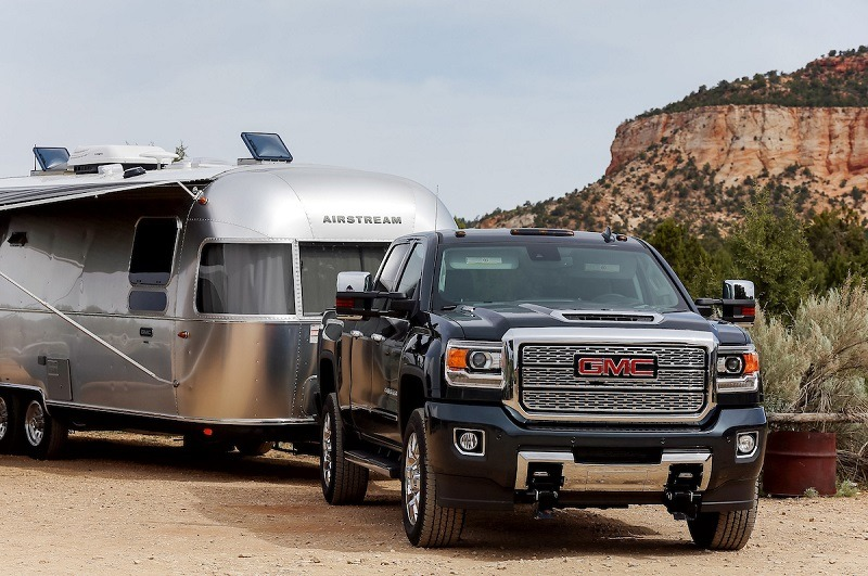 The GMC Tow Like a Pro media drive Monday, May 21, 2018 at the Coral Pink Sand Dunes in St. George, Utah.
