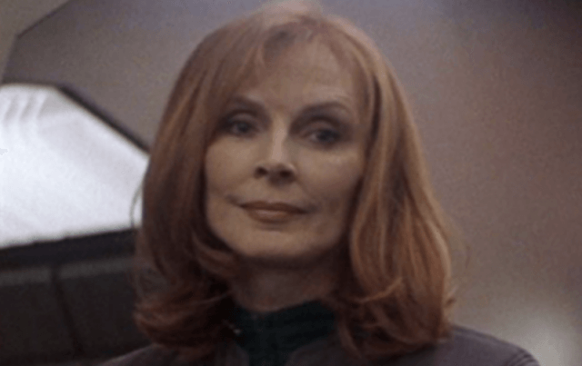 Gates McFadden in 'Star Trek: The Next Generation'.