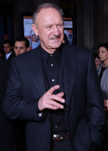 Gene Hackman arrives at the premiere of 'The Royal Tenenbaums'