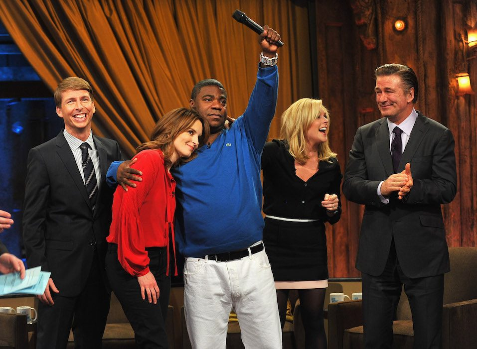 Jack McBrayer, Tina Fey, Tracy Morgan, Jane Krakowski and Alec Baldwin are all some of the richest 30 Rock actors