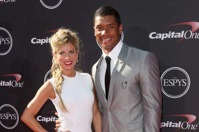 Russell Wilson and Ashton Meem