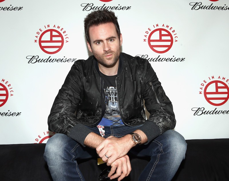 LOS ANGELES, CA - AUGUST 30: Musician Gareth Emery poses backstage during day 1 of the 2014 Budweiser Made In America Festival at Los Angeles Grand Park on August 30, 2014 in Los Angeles, California. (Photo by Christopher Polk/Getty Images for Anheuser-Busch)