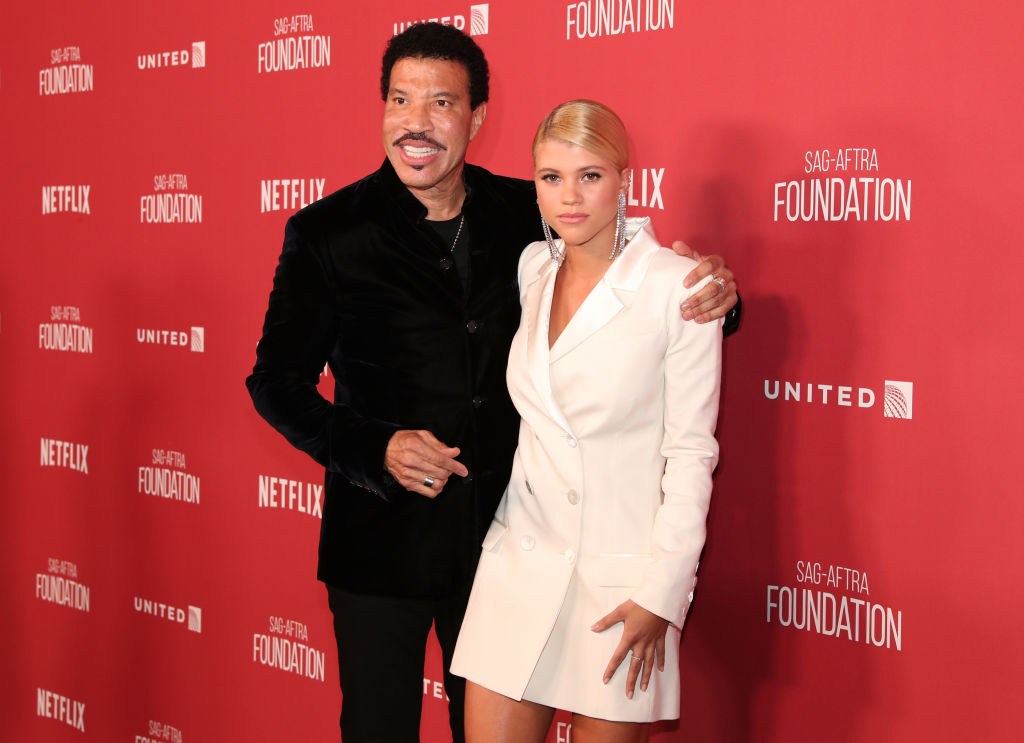 Lionel and Sofia Richie