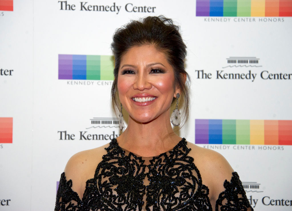 Julie Chen arrives for the formal Artist's Dinner hosted by United States Secretary of State Rex Tillerson in their honor at the US Department of State on December 2, 2017 in Washington, D.C.