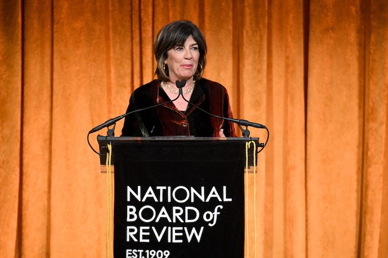 NEW YORK, NY - JANUARY 09: Christiane Amanpour<br /> speaks onstage during the National Board of Review Annual Awards Gala at Cipriani 42nd Street on January 9, 2018 in New York City. (Photo by Dimitrios Kambouris/Getty Images for National Board of Review)