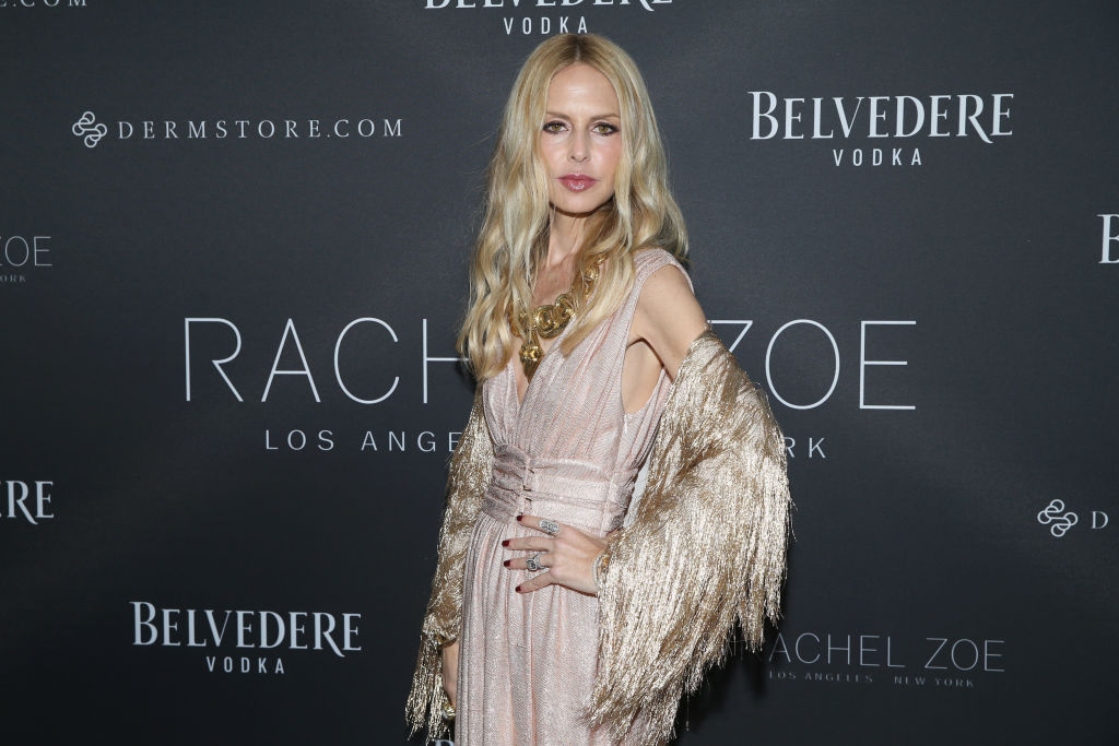 Rachel Zoe attends The Rachel Zoe Fall 2017 LA Presentation at The Jeremy Hotel on February 5, 2018 in West Hollywood, California.
