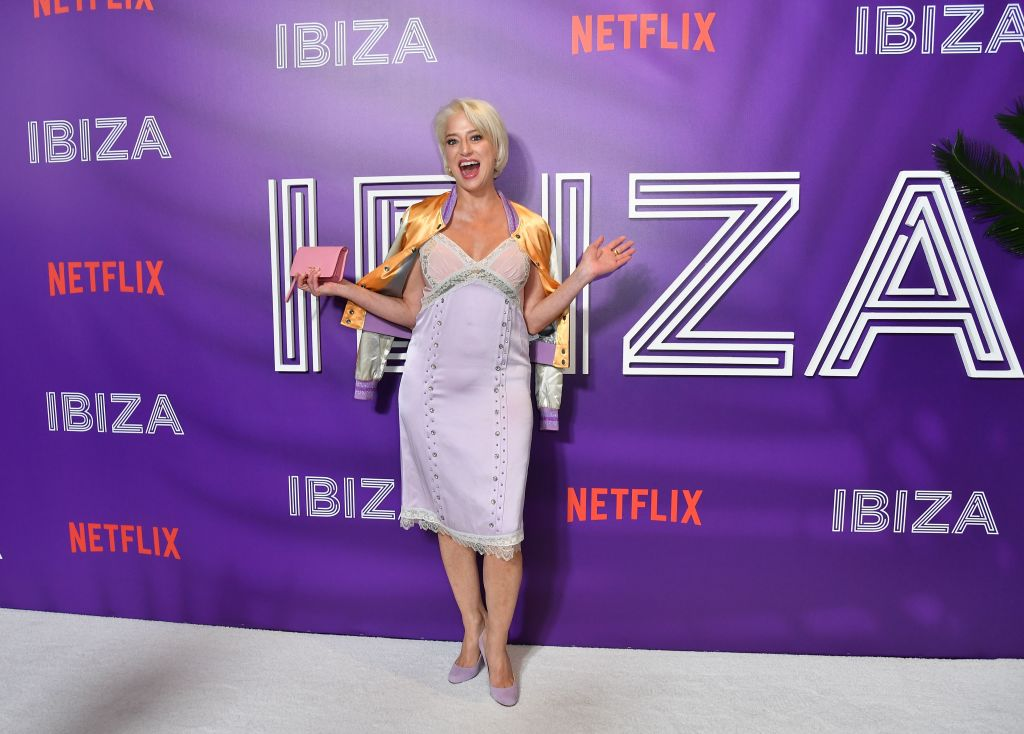 Dorinda Medley attends the special screening of the Netflix Film 'Ibiza' at AMC Loews Lincoln Square on May 21, 2018 in New York City.