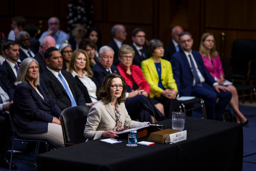 CIA Director nominee Gina Haspel testifies