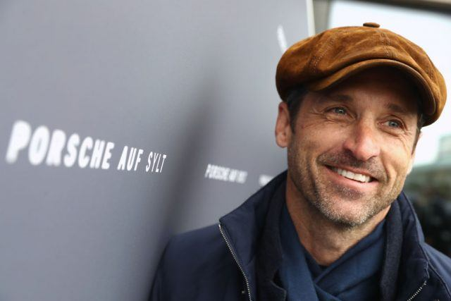 "Hollywood actor and racecar driver Patrick Dempsey attends the Grand Opening of ""Porsche auf Sylt"""