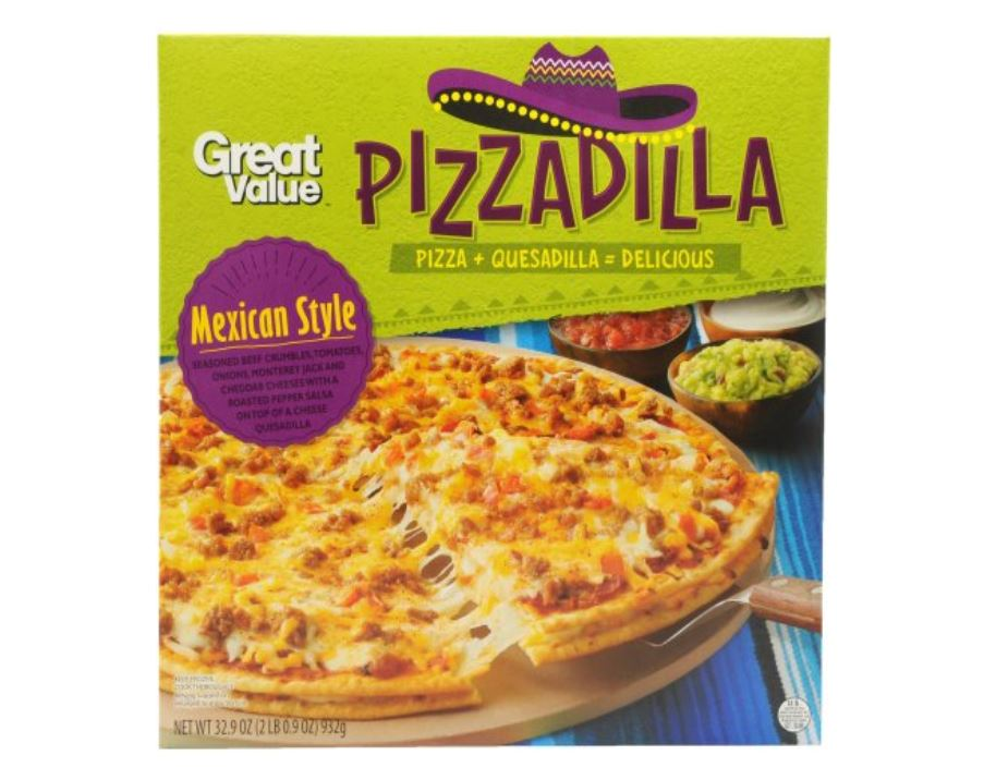 The Great Value Pizzadilla