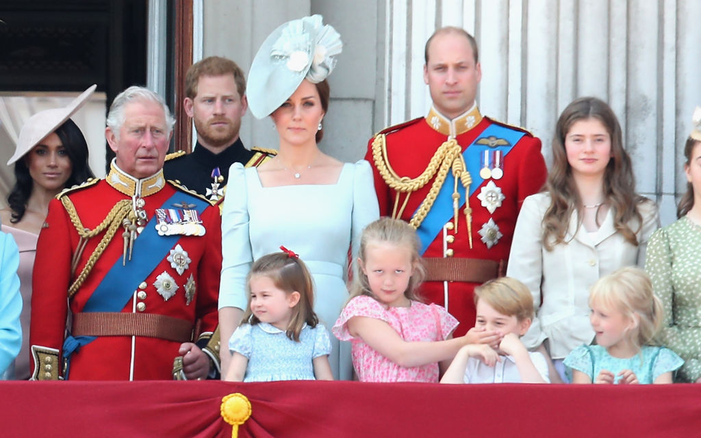 Queen Attends Trooping the Colour