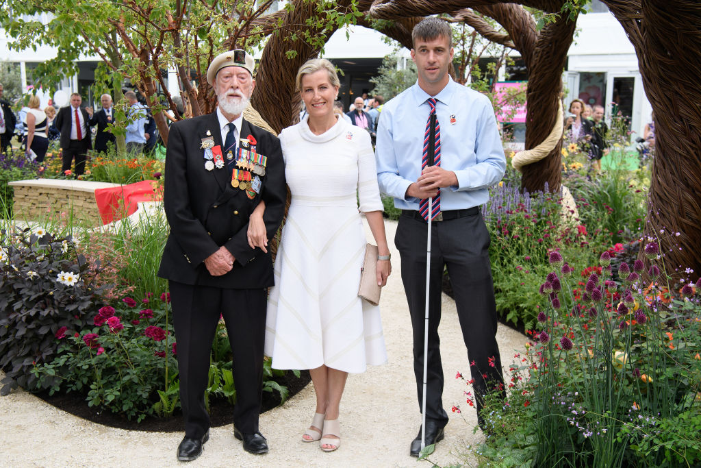 Sophie, Countess of Wessex at The Hampton Court Flower Show