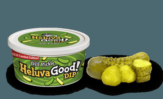 Heluva good dip pickle