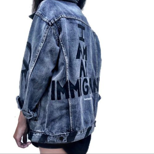 I Am an Immigrant jacket from Wren + Glory