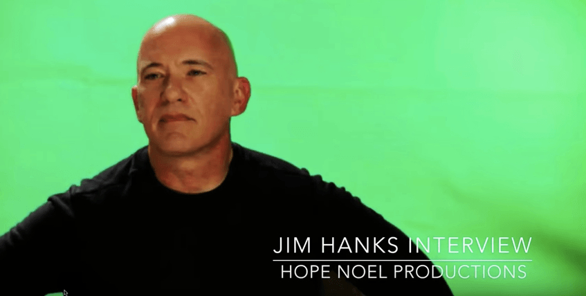 Jim Hanks in an interview