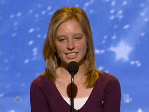 Julienne Irwin on America's Got Talent