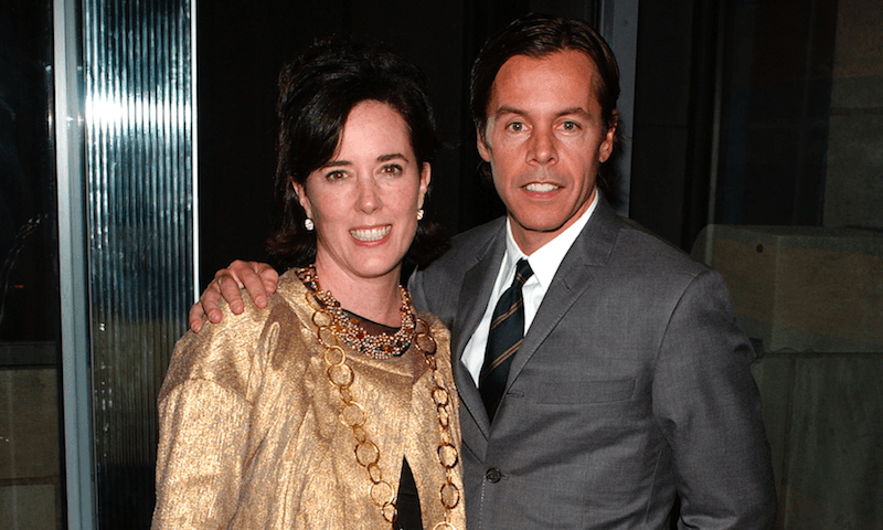 Kate and Andy Spade