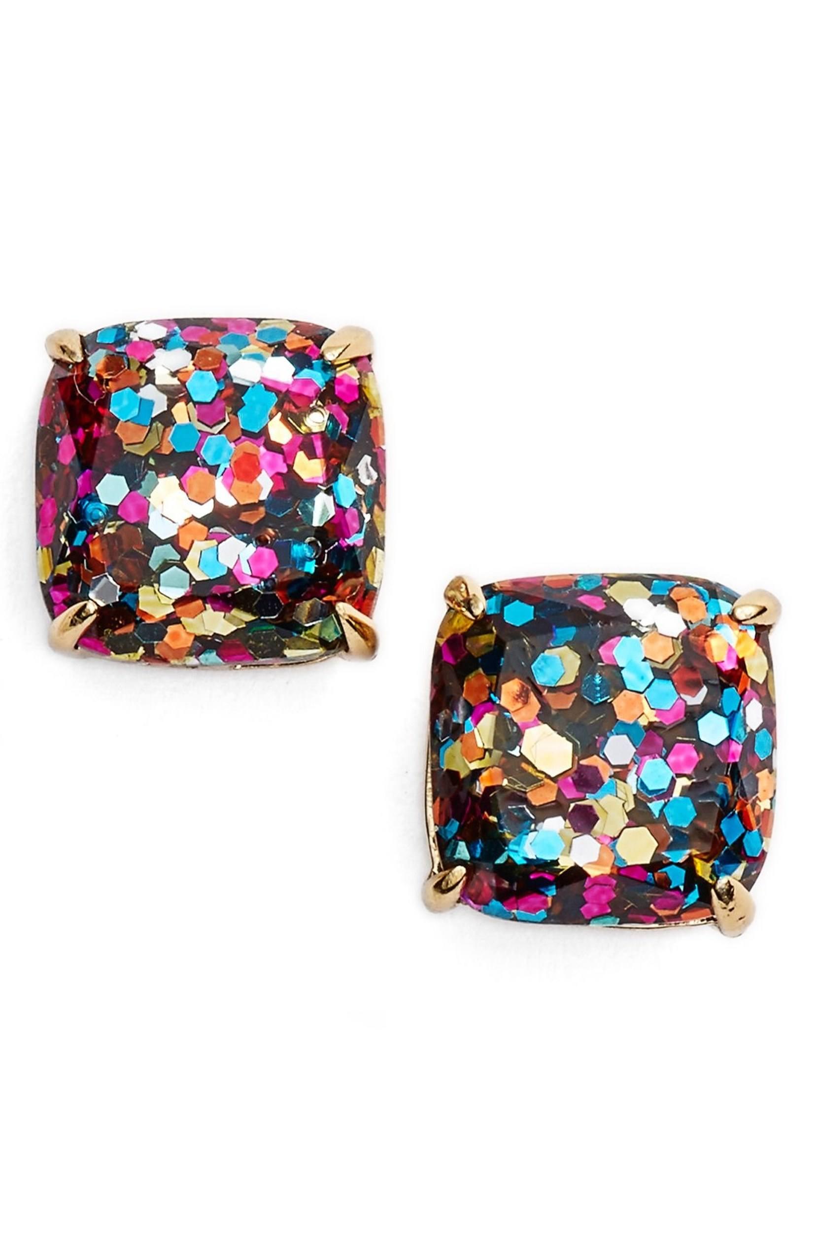 Kate Spade glitter earringsKate Spade glitter earrings