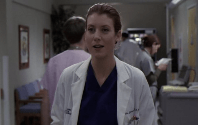 Kate Walsh in 'Grey's Anatomy'.