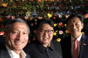 This Is How Kim Jong Un Is De-Stressing While in Singapore (Plus, the 1 Photo of Him That Made it on Twitter)