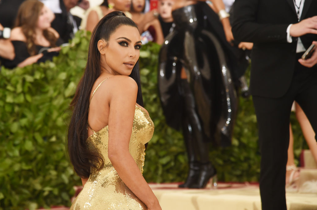 Kim Kardashian attends the Heavenly Bodies: Fashion & The Catholic Imagination Costume Institute Gala