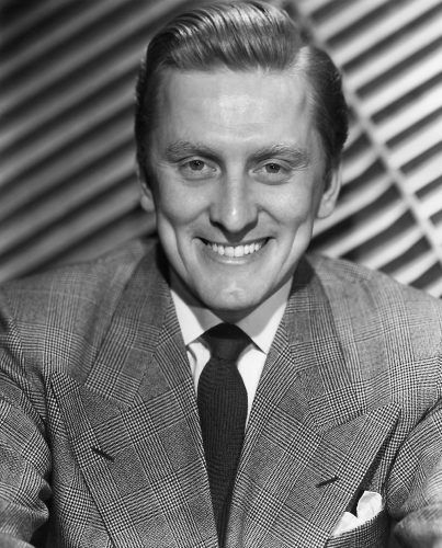 Undated portrait of actor Kirk Douglas
