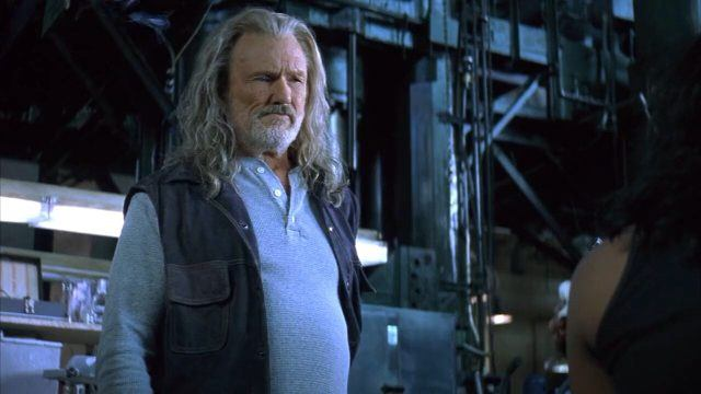 "Kris Kristofferson in ""Blade"""