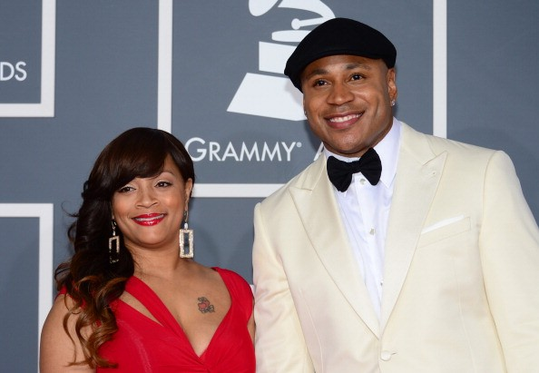 Rapper LL Cool J and wife Simone Smith