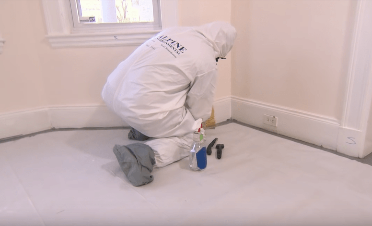 Lead paint removal