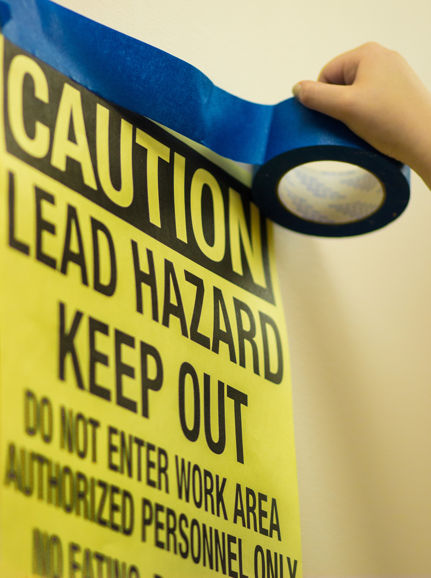 Lead Paint Hazard Warning