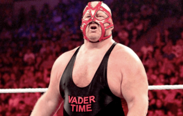 Big Van Vader in the ring.