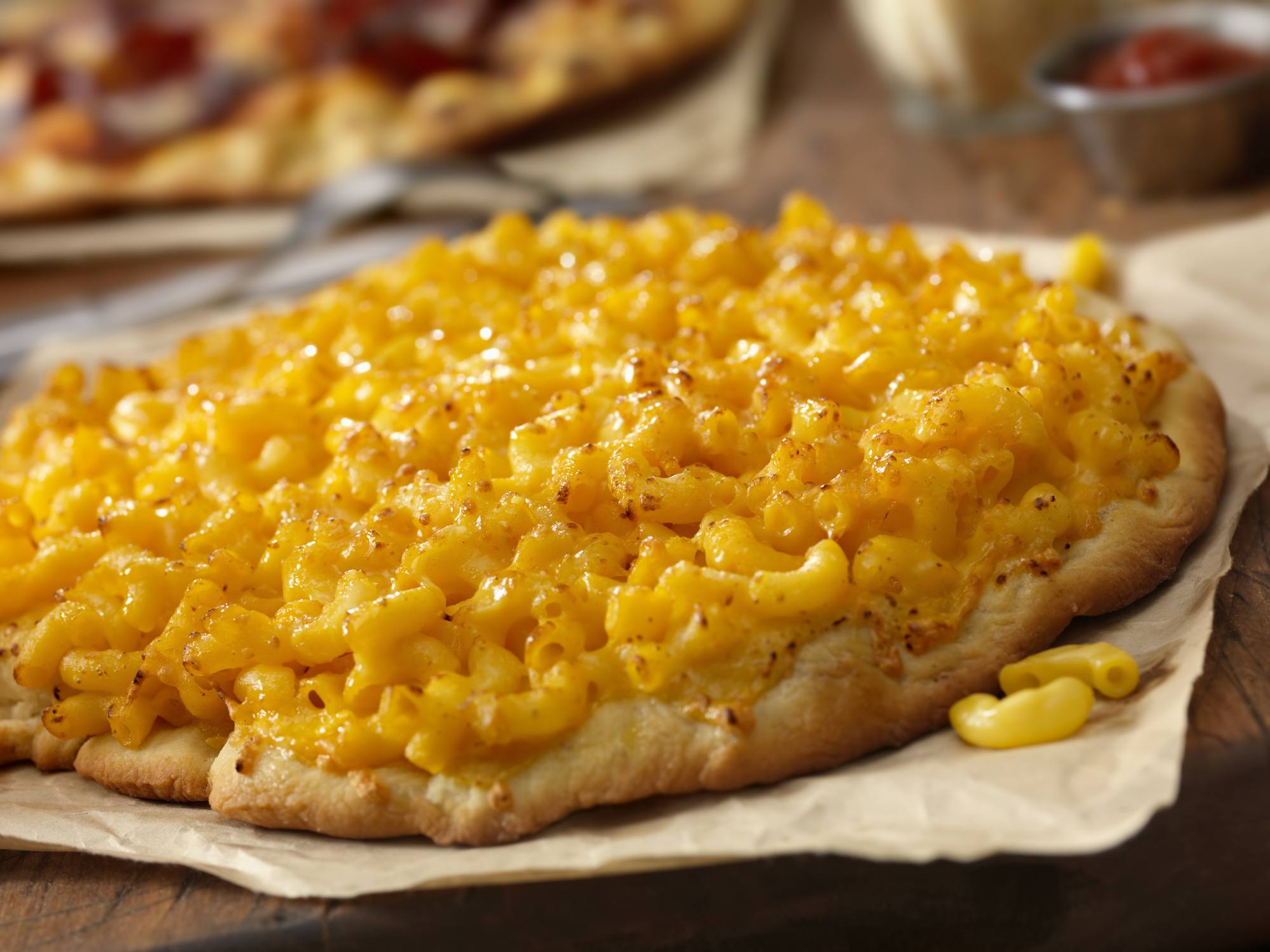 Macaroni and Cheese Pizza