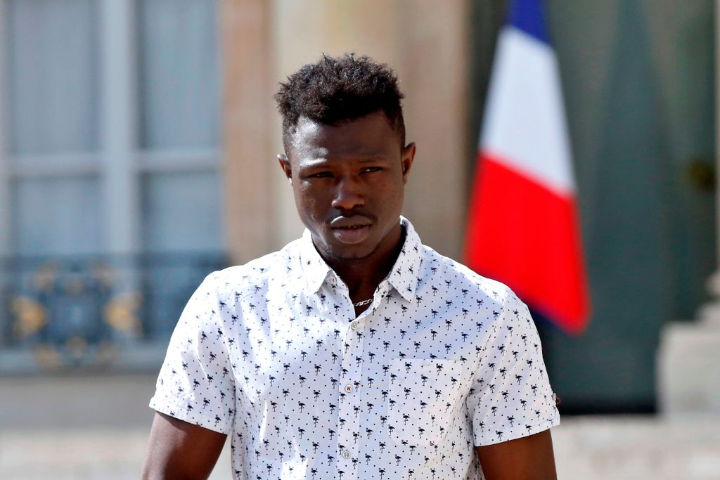 Mamoudou Gassama rescued child from hotel balcony