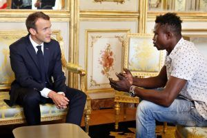 This Is How President Macron Responded to the Real Life Superhero Caught on Camera